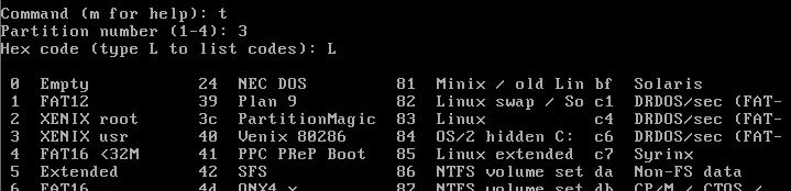 在VMware的CentOS中扩展磁盘空间